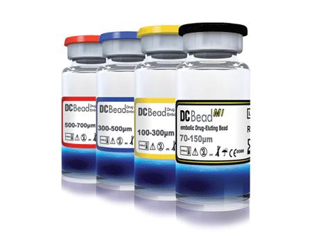 DC Bead Drug-eluting Beads